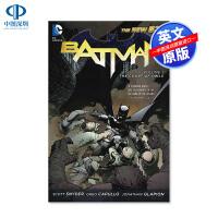 英文原版 DC系列漫画 蝙蝠侠 猫头鹰法庭 BATMAN VOL 01 The Court of Owls 新52系列