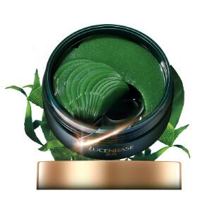 透真LUCENBASE 螺旋藻绿凝胶眼膜贴 淡化眼纹眼袋黑眼圈细纹 紧致提拉消 补水保湿绿眼膜贴 60片
