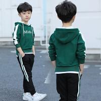 童装男童卫衣春装新款中大儿童连帽上衣男孩春秋运动韩版潮衣