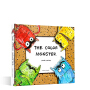 英文原版 The Color Monster 我的情绪小怪兽 3D立体书 Coluor 0-6岁孩子情商教育培养好习惯 疏导负面情绪 幼儿园宝宝认识控制脾气 颜色认知绘本 小达人点读版