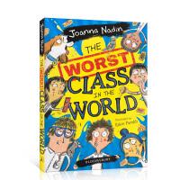 【全店300减100】英文原版 the Worst Class In The World 世界上 糟糕的班级 搞笑幽默故