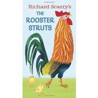 Richard Scarry's the Rooster Struts斯凯瑞:趾高气昂的大公鸡ISBN97805535