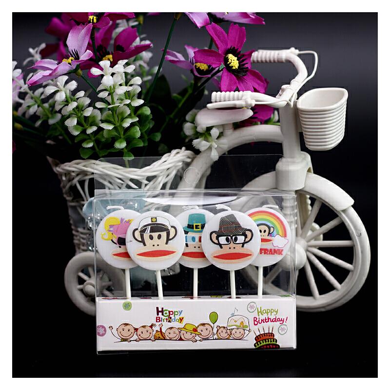 生日蜡烛创意数字儿童宝宝字母蛋糕蜡烛周岁派对用品卡通萌爱 大嘴猴 蜡烛 一般在付款后3-90天左右发货,具体发货时间请以与客服协商的时间为准