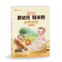 禾泱泱RIVSEA婴幼儿糙米粉宝宝辅食宝宝营养1段米粉 台湾婴儿米粉