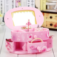 音乐盒跳舞公主旋转首饰八音盒创意芭蕾女孩儿童女生生日快乐礼物