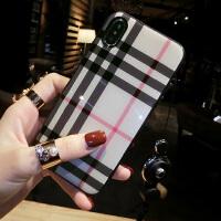 苹果X手机壳新款xr女iPhone8plus个性创意6s玻璃xs7带挂绳max iPhone X