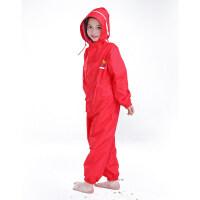 连体儿童雨衣男童女童幼儿园雨衣雨裤套装小学生幼儿雨披宝宝无味