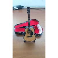 ?迷你乐器 圣诞节* 带护板吉他乐器模型 家居摆设 生日礼物 图片色 图片色