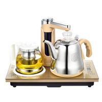 电热水壶烧水抽水泡茶具功夫茶道三合一套装电磁茶炉自动上水壶