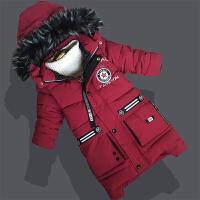 男童棉衣儿童冬装2018新款棉袄中大童羽绒中长款童装加厚外套