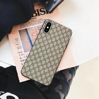 苹果8x手机壳皮iphone6splus潮牌欧美网红女款7p男2