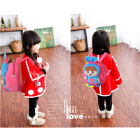 韩版可爱婴儿背包小双肩包1-3岁女孩包包幼儿园女宝宝小书包迷你