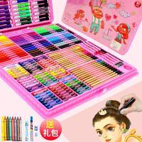 幼儿园画画工具套装初学者用儿童小学生美术绘画大容量24色水彩笔36色画笔学习用品文具女孩子48色手绘彩色笔