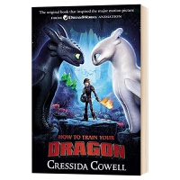 驯龙高手1 电影版 英文原版 How to Train Your Dragon 如何驯服你的龙 英文版儿童文学书 进口原