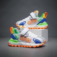 【1件2折:69元】贵人鸟儿童2021夏季男童鞋运动鞋网鞋透气网面阿甘鞋女童