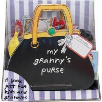 【现货】英文原版 My Granny's Purse 奶奶的手袋(奶奶的手提包) 立体趣味翻翻书  3-6岁认知系列