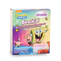Beakid海绵宝宝雪米饼草莓味米饼干婴儿米饼儿童米饼零食美国进口