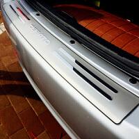 汽车 不锈钢外置后护板 后备箱门槛条 专车专用尾箱踏板 改装配件 汽车用品 S