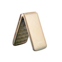 【当当自营】百合 C30A 金色 电信版2G老年人翻盖手机