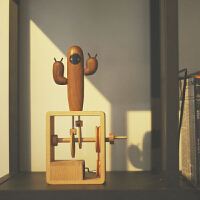 【仙人掌音乐盒】创意手摇木质八音盒千与千寻治愈系礼物创木工房
