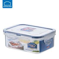 乐扣乐扣保鲜盒塑料微波炉饭盒密封盒便携便当盒水果盒 长方形【350ml】