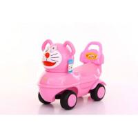 W 儿童大黄鸭滑行溜溜车1-2-3岁宝宝扭扭四轮助步玩具扭扭车带音乐