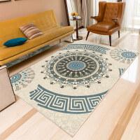 北欧现代简约地毯客厅几何沙发茶几毯卧室床边毯家用可水洗 2*3米 环保无味送地垫