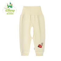 【限时抢:15.9】迪士尼Disney新生儿衣服婴儿长裤 宝宝高腰护肚开裆裤153K662