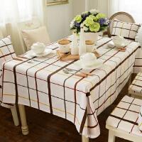 乐唯仕纯棉桌布布艺欧式时尚田园风台布餐桌布茶几布可定做制