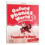 新版 牛津自然拼读教材教师书5 英文原版 Oxford Phonics World Level 5 Teacher's