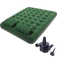 双人充气床垫户外便携家用充气床 帐篷防潮气垫床 充气床+2个枕头+充气泵