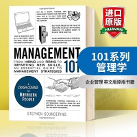 101系列 管理学 英文原版 Management 101 企业管理 英文版原版书籍 精装 正版进口英语书