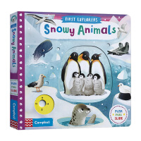 小小探索家系列 雪地动物 英文原版绘本 First Explorers Snowy Animals busy系列 ST