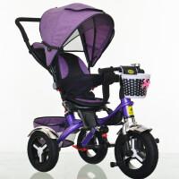 多省钛空儿童三轮车自行车童车宝宝婴儿推车脚踏车