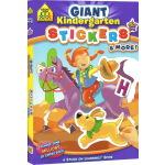 【4-6岁贴纸练习】School Zone Giant Kindergarten Stickers and More