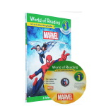 World of Reading: Marvel 3in1 Listen-Along Reader 漫威 蜘蛛侠Spi