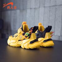 【品牌钜惠:69元】贵人鸟男童鞋2020年新款秋冬款鞋儿运动鞋加绒二棉鞋冬季男孩保暖