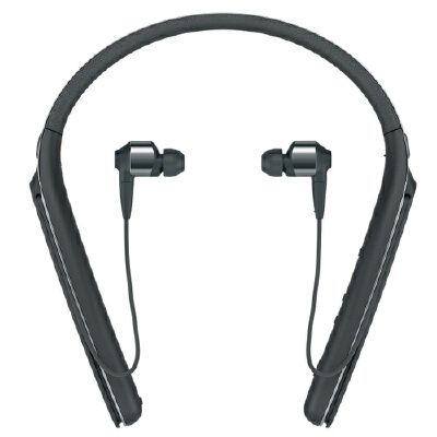 Sony索尼 WI-1000X 无线蓝牙降噪耳机颈挂入耳式 智能降噪 来电震动提醒