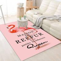 地毯卧室客厅茶几房间可爱床边毯女生粉色公主少女心满铺地垫