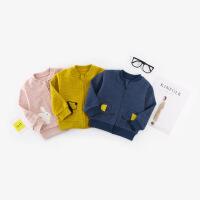 本印苏拉 2018新款韩版儿童外套春秋长袖婴儿运动卡通夹克刺绣