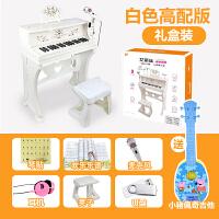 儿童电子琴带麦克风钢琴宝宝女男孩玩具1-3-6-8岁音乐礼物a154