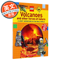 LEGO乐高 火山和其他自然力量 英文原版 Volcanoes and other Forces of Nature
