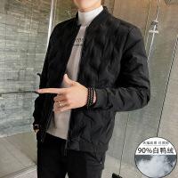 №【2019新款】冬天年轻人穿的男士羽绒服短款韩版潮流帅气冬装轻薄加厚学生男外套
