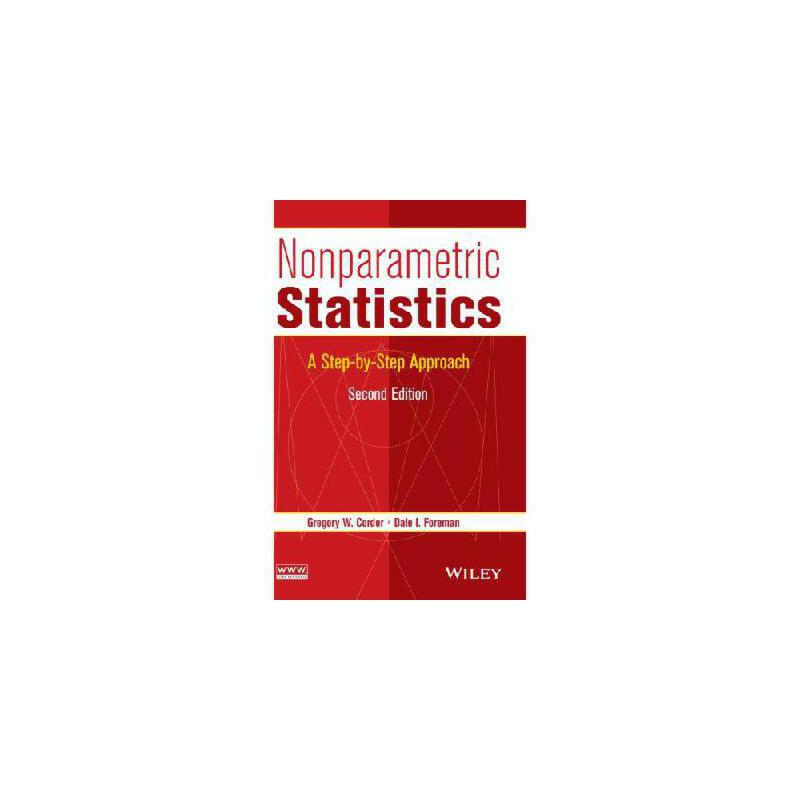 【预订】Nonparametric Statistics: A Step-By-Step Approach 美国库房发货,通常付款后3-5周到货!