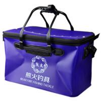 渔具 鱼桶 折叠钓鱼桶 EVA 加厚水桶 装鱼桶 放鱼护鱼桶 钓箱