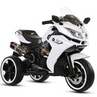 儿童电动摩托车电瓶车可坐人小孩越野车双驱动充电三轮车