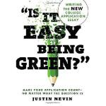 """【预订】""""Is It Easy Being Green?"""": Writing the New College Appl"""