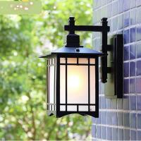 【支持礼品卡】户外壁灯防水新中式外墙方形创意灯具楼梯大门过道阳台室外庭院灯4ht