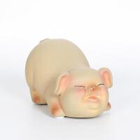 创意家居装饰品摆件陶瓷卡通小猪儿童礼物玄关酒柜电视柜桌面摆设