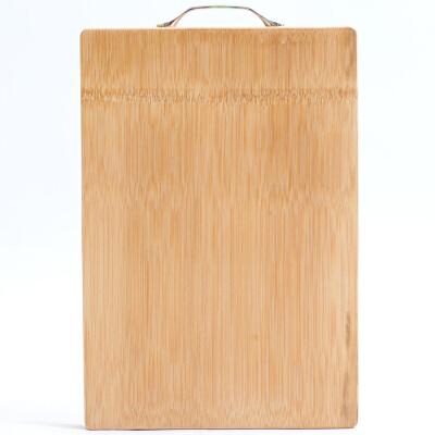 馨圆 整竹加厚剁肉砍骨斩骨钻板菜板 YZZ32 (38*26*2.6cm)